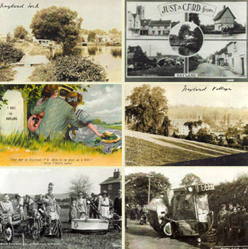 David May Collection Postcards