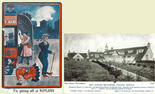 David May Postcards